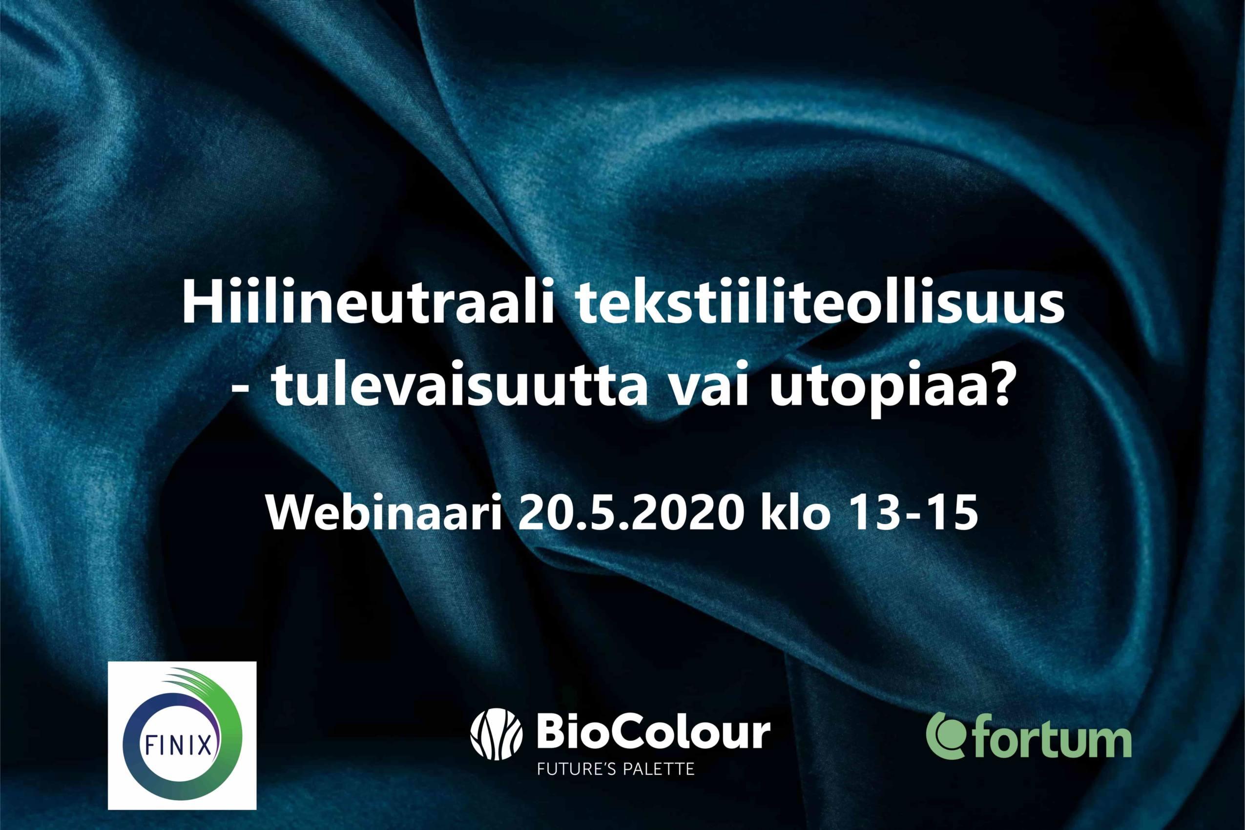 Cover for article 'Hiilineutraali tekstiiliteollisuus – tulevaisuutta vai utopiaa?'