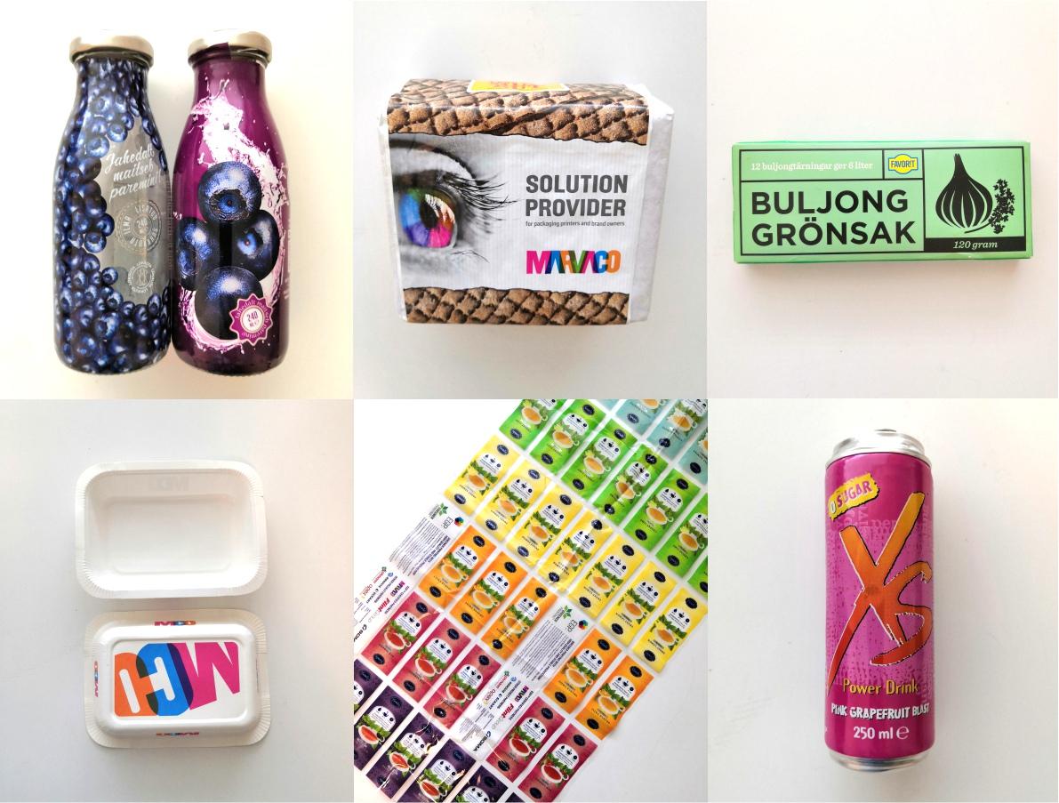 Cover for article 'Ekologisia värejä ja kierrätettävyyttä – kuluttajien näkemyksiä elintarvikepakkauksista ja väreistä'